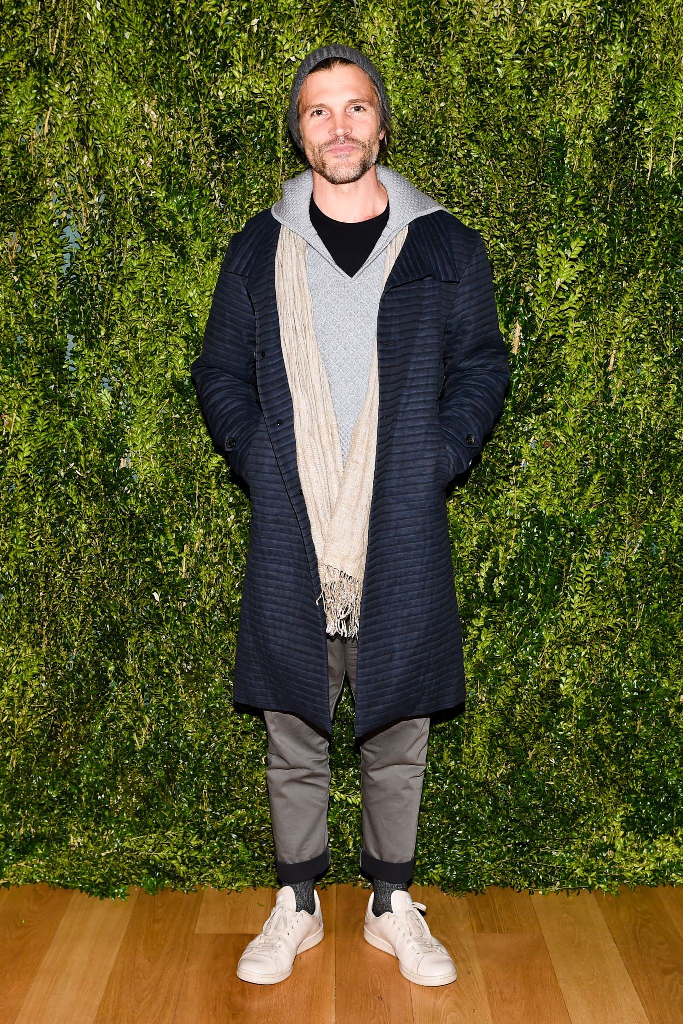 Thaddeus O'Neil at the Fashion Fund Season Premiere
