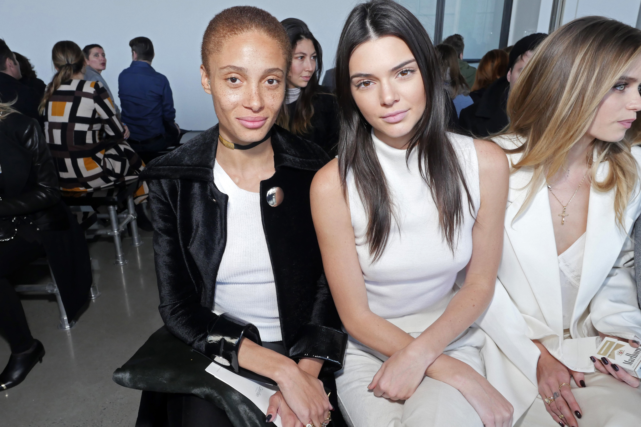Adwoa Aboah and Kendall Jenner