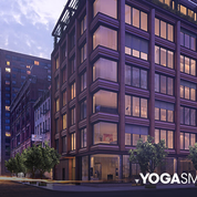 A rendering of the YogaSmoga flagship coming to 10 Bond Street.