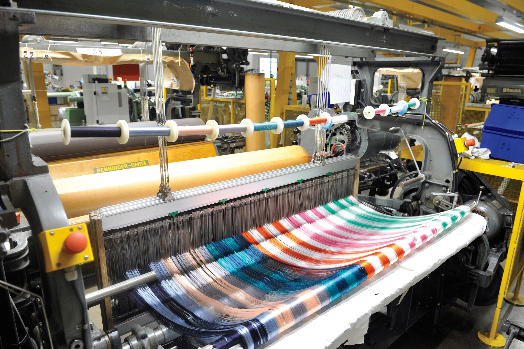 Established in 1902, Mantero produces and distributes silk prints and fabrics.