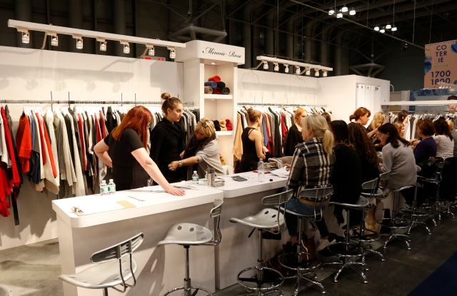 Minnie Rose was doing a brisk business at Coterie.