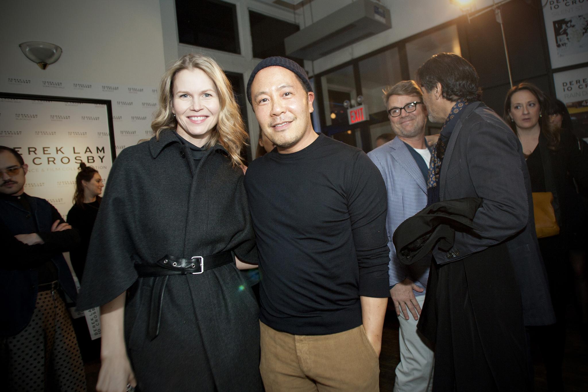 Shirin von Wulffen and Derek Lam