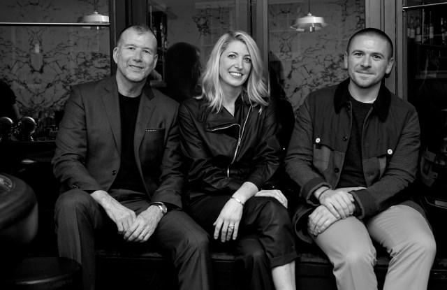 Kevin Harter, Kristin Davidsson and Justin Berkowitz