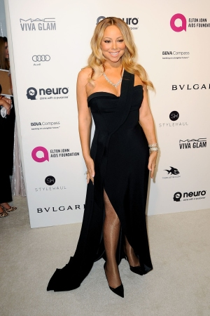 Mariah Carey Elton John AIDS Foundation 2016 Academy Awards Party