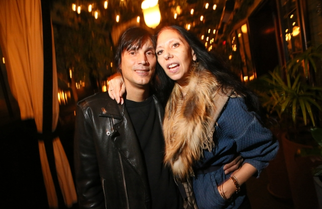 Vinoodh Matadin and Inez van Lamsweerde Fashion Unfiltered Dinner, Feb 3, 2016