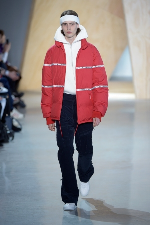 A fall look from Lacoste.