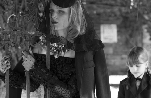 Guinevere Van Seenus in Thom Browne