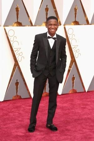 Abraham Attah Toms shoes 2016 Oscars