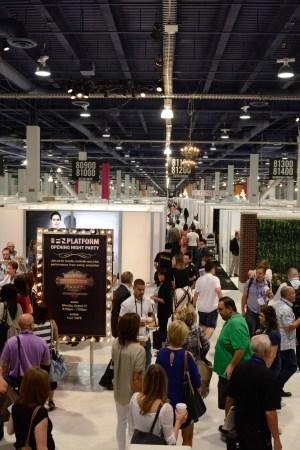 FN Platform show entrance