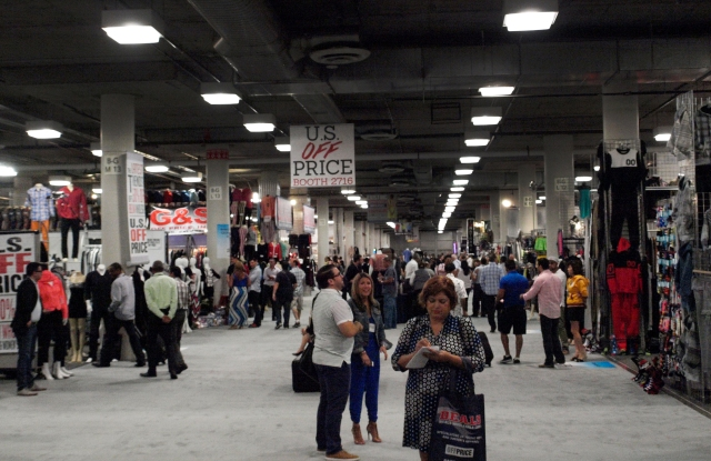 Offprice's show floor at the Sands Expo.