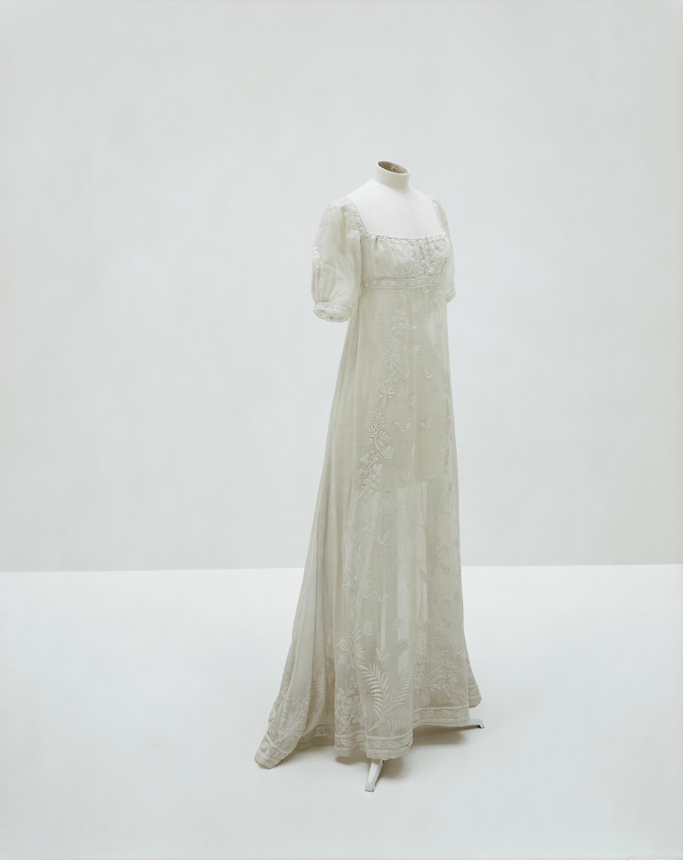Dress worn by Empress Joséphine
