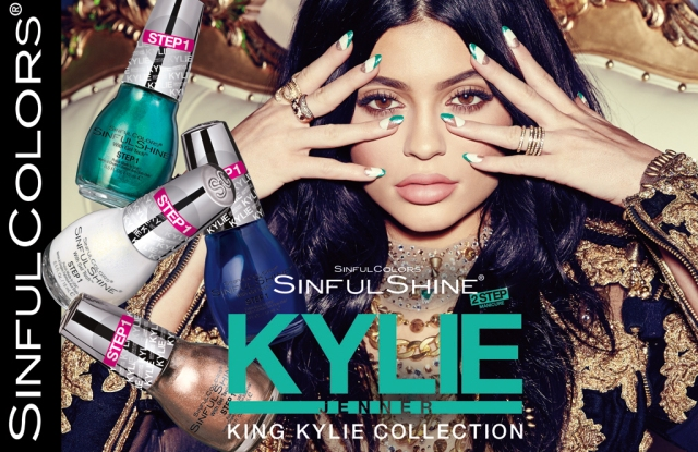 King Kylie SinfulShine 2 Step for SinfulColors