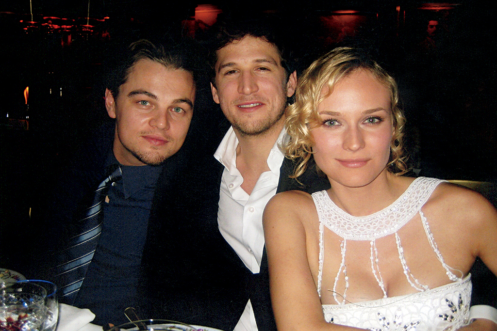 Leonardo DiCaprio, Guillaume Canet, and Diane Kruger, 2005 Charles Finch, BAFTA: The Night Before