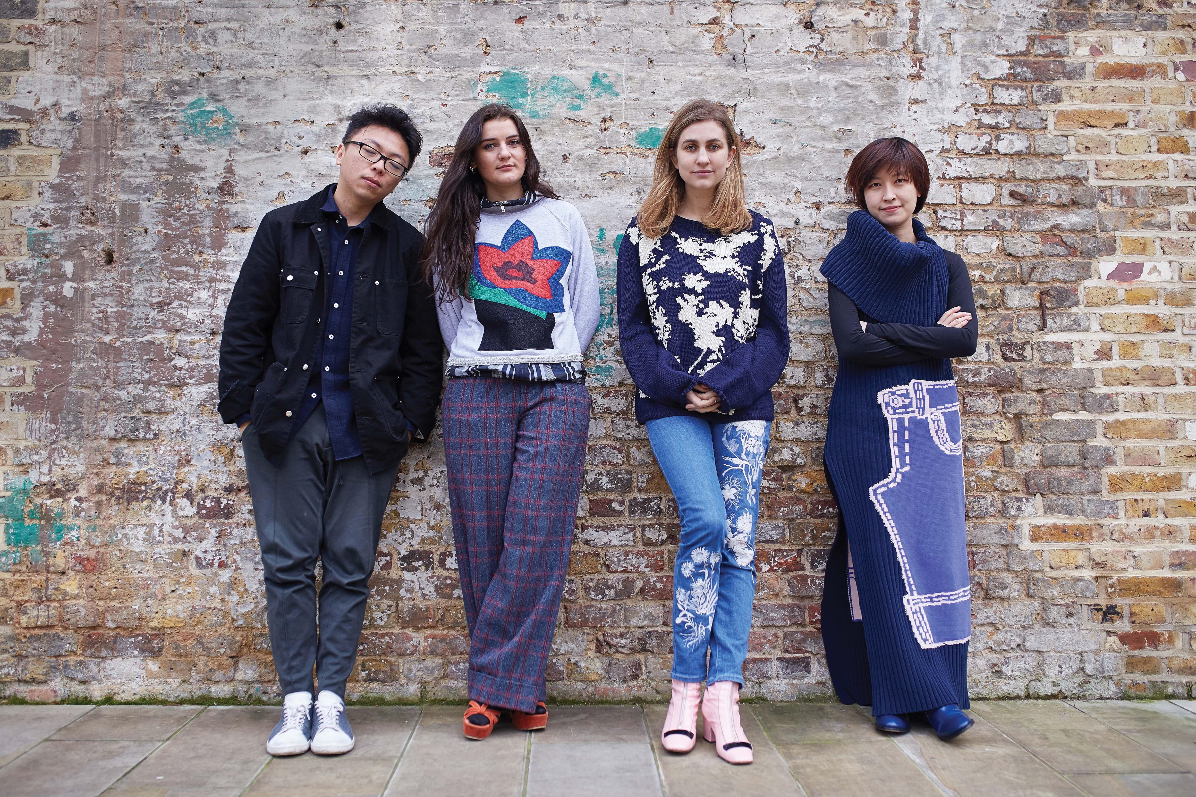 Steven Tai, Sadie Willaims, Alice Archer and Xiao Li.