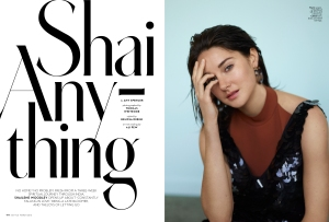 InStyle's Shailene Woodley feature.