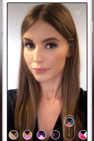 Beauty brands using ModiFace technology let customers try on makeup using live, 3D video.