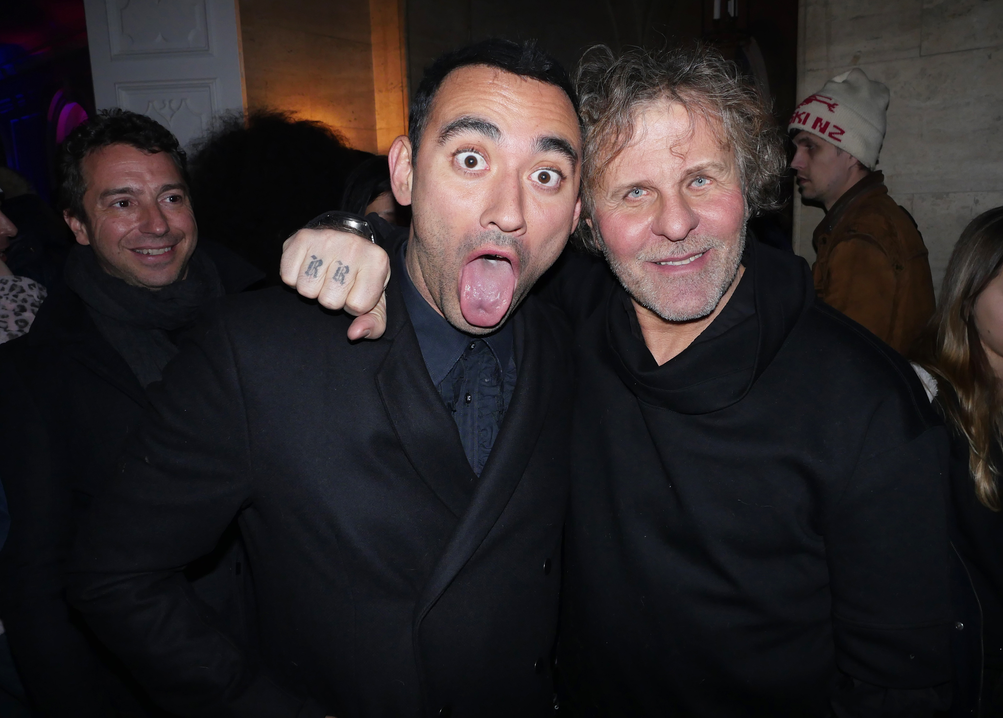 Nicola Formichetti and Renzo Rosso at diesel after party