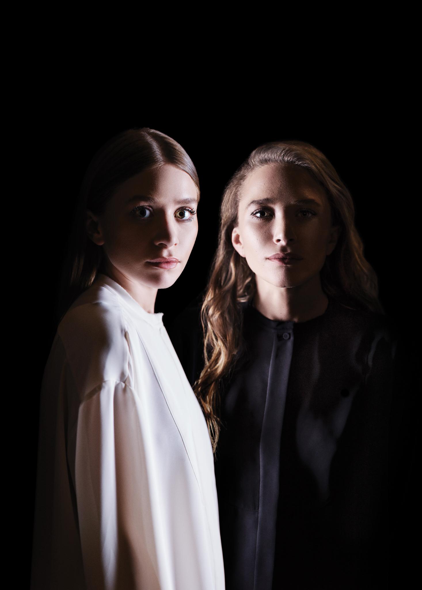 Ashley Olsen and Mary-Kate Olsen for WWD