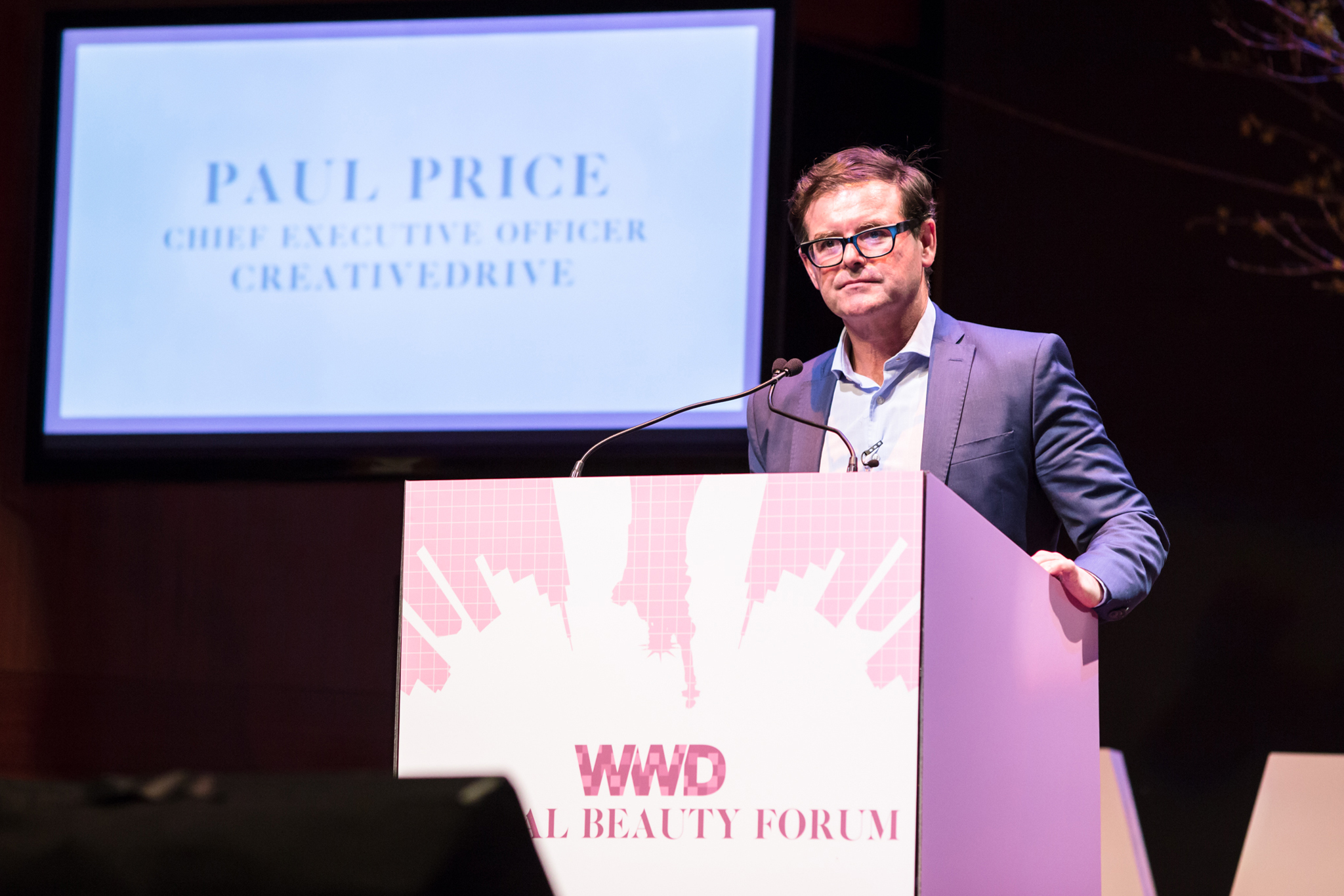Paul Price at the WWD Digital Beauty Forum - February 11, 2016