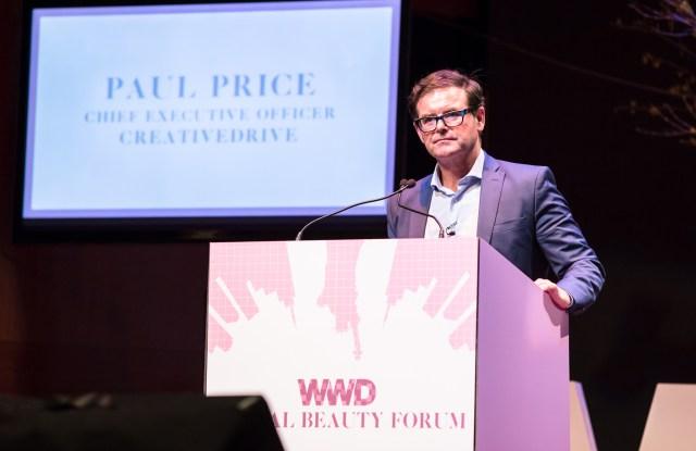 Paul Price at the WWD Digital Beauty Forum - February 11, 2016