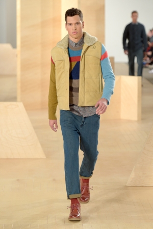 A look from the Perry Ellis fall collection.