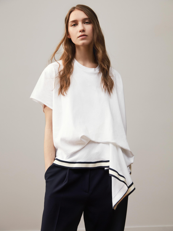 A women's wear design by Annelie Schubert for Petit Bateau.
