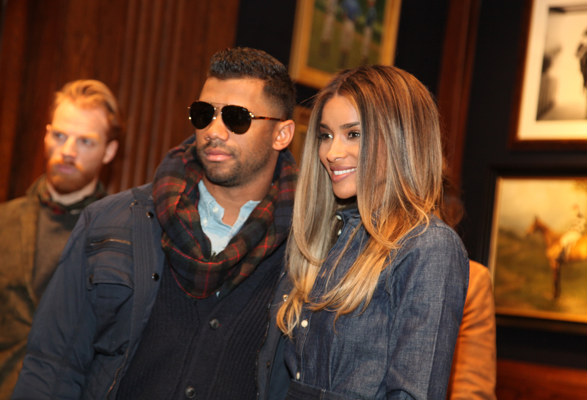 Russell Wilson and Ciara Polo presentation, Front Row, Fall Winter 2016, New York Fashion Week, America - 12 Feb 2016