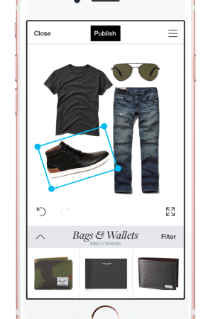 Polyvore now adds men's apparel and accessories to its platform.