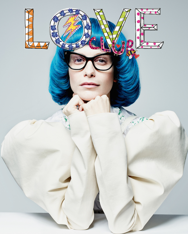 Poppy Delevigne Love Magazine