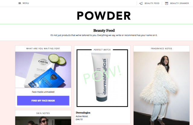 Powder website