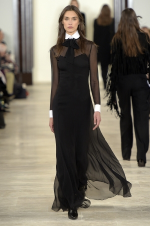 A look from Ralph Lauren RTW Fall 2016