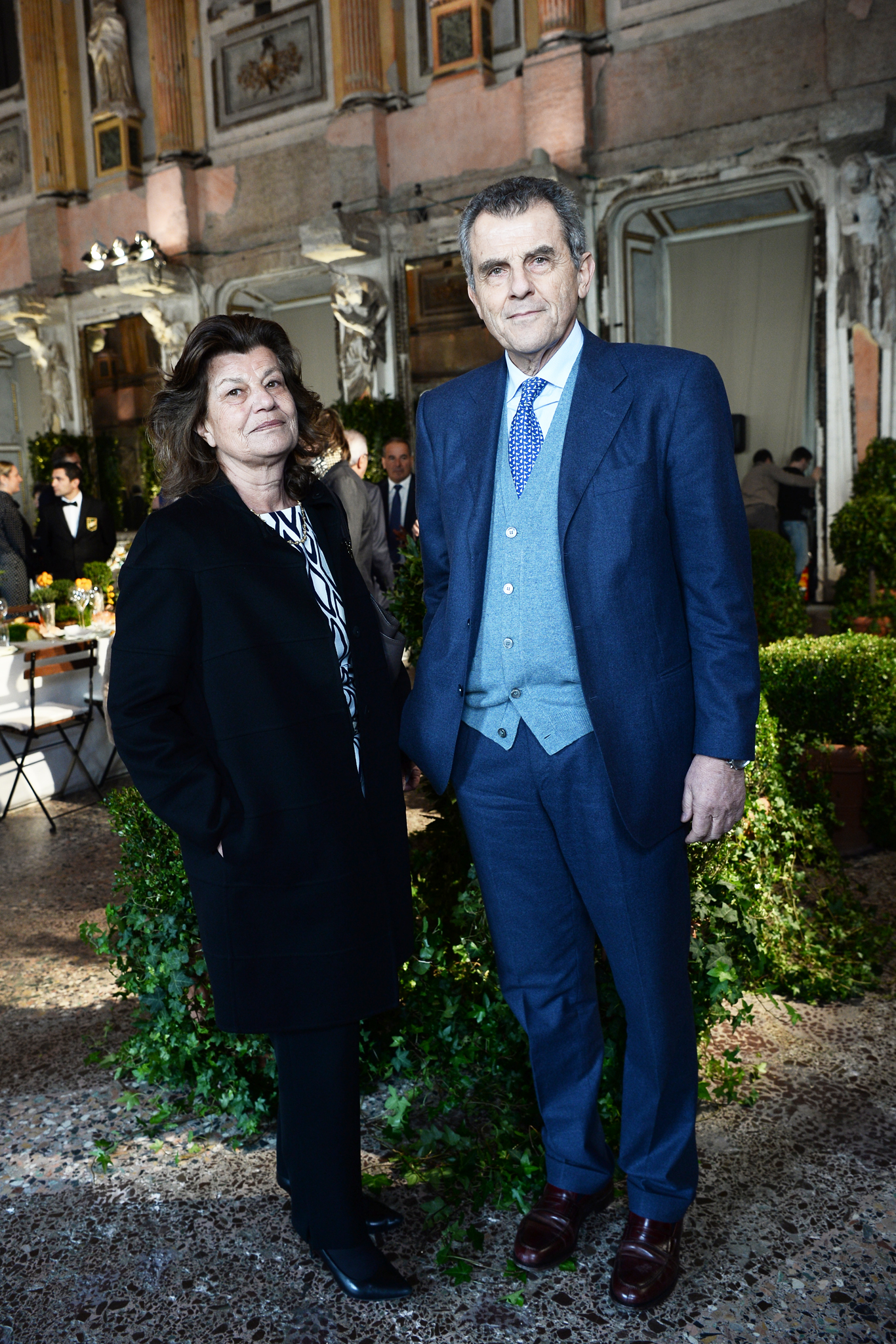 Fulvia and Ferruccio Ferragamo