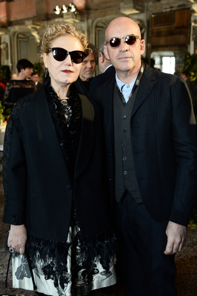Patrizia and Antonio Marras