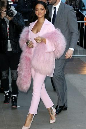 Rihanna wearing Pascal Millet