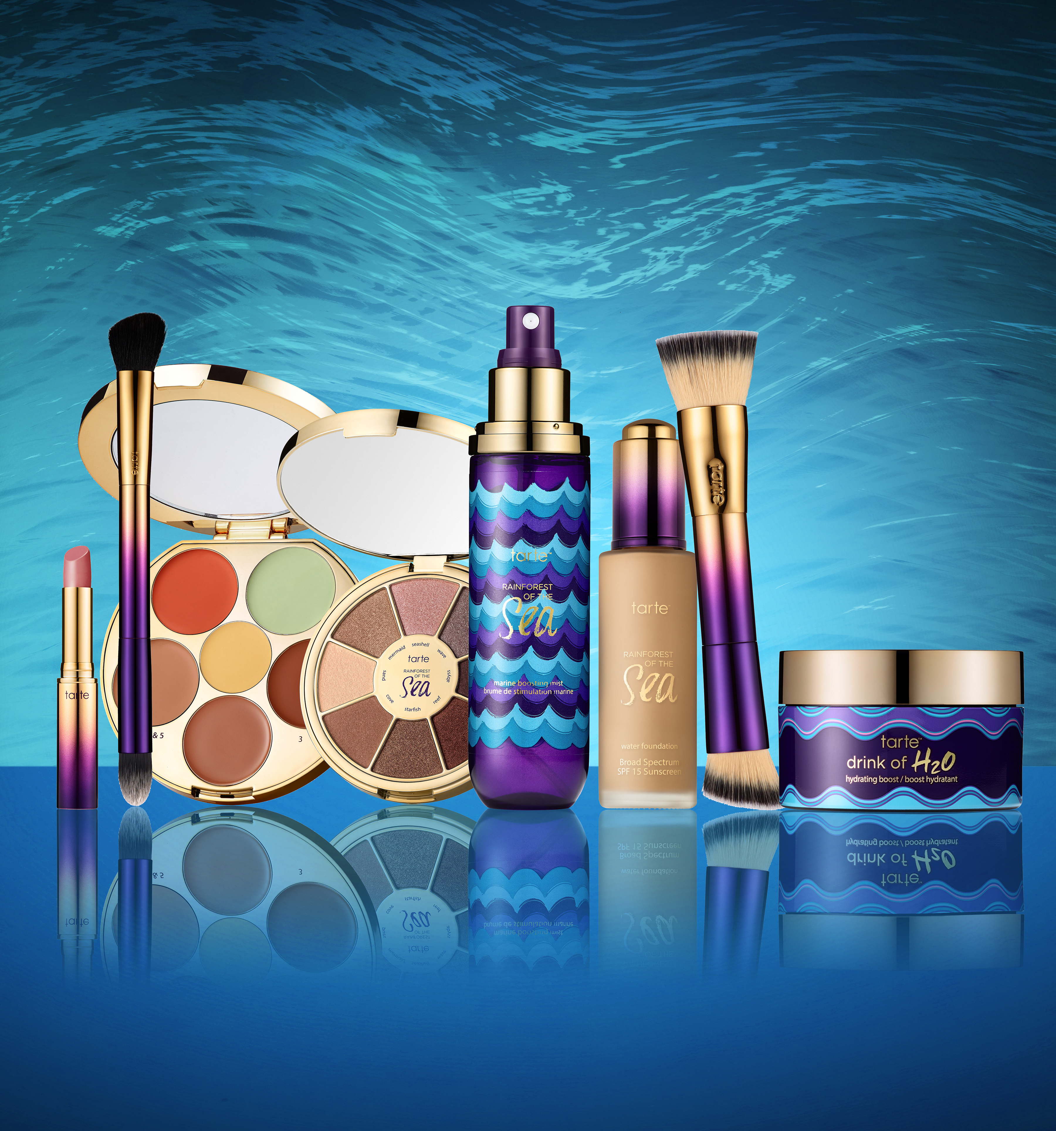 Rainforest of the Sea collection for Sephora.