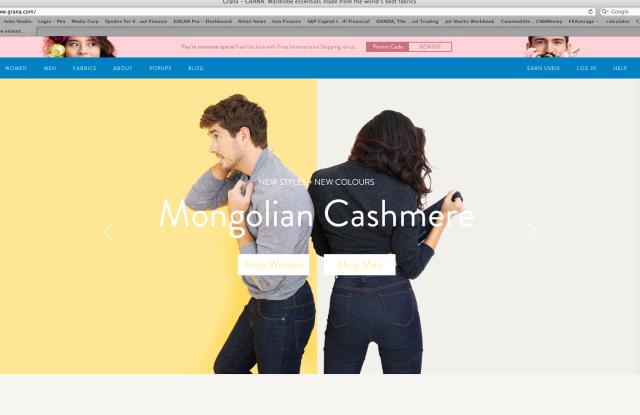 Grana web site