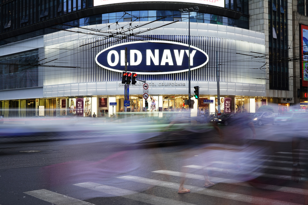 Old Navy comps were up in October.