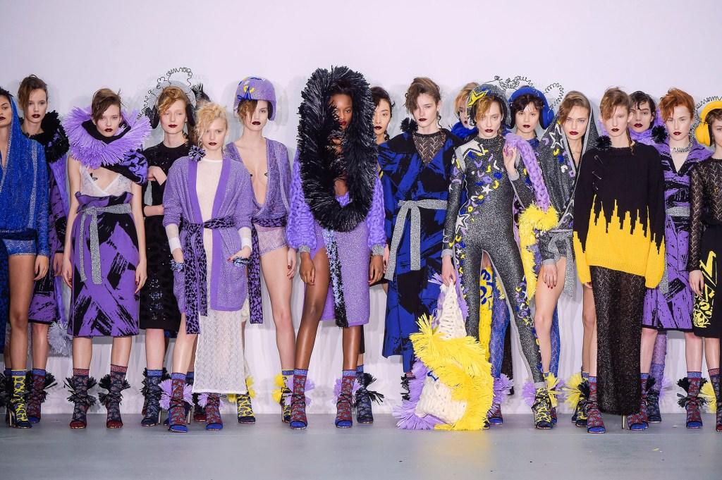 Sibling show, Runway, Autumn Winter 2016, London Fashion Week, Britain - 20 Feb 2016