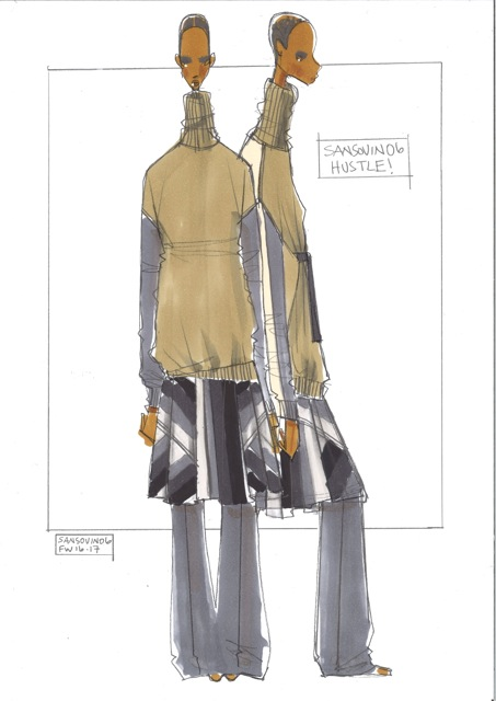 A sketch from Sansovino 6 collection