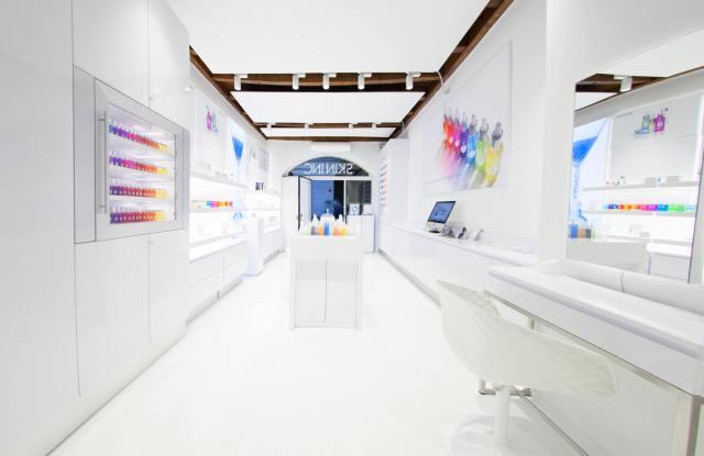 Skin Inc's New Milan Store