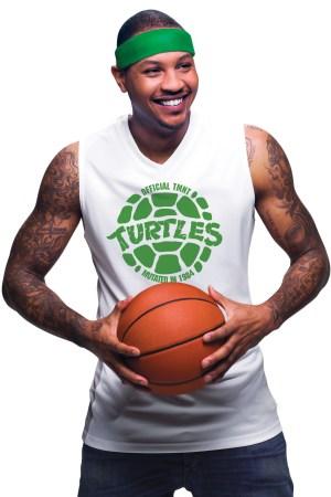 """Carmelo Anthony x """"Teenage Mutant Ninja Turtles"""""""