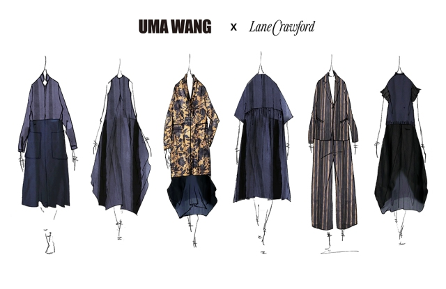 The Uma Wang capsule collection