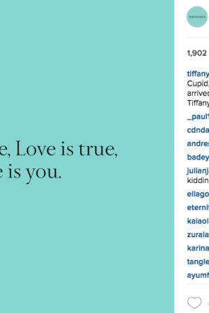 @tiffanyandco Valentine's Day