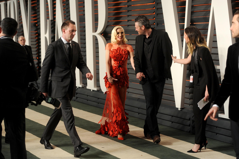 Gwen Stefani 2016 Oscars Vanity Fair After Party