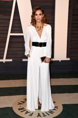 Jessica Alba 2016 Oscars Vanity Fair After Party