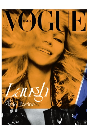 February 2016 cover of Vogue Italia, entirely photographed by Mario Testino.