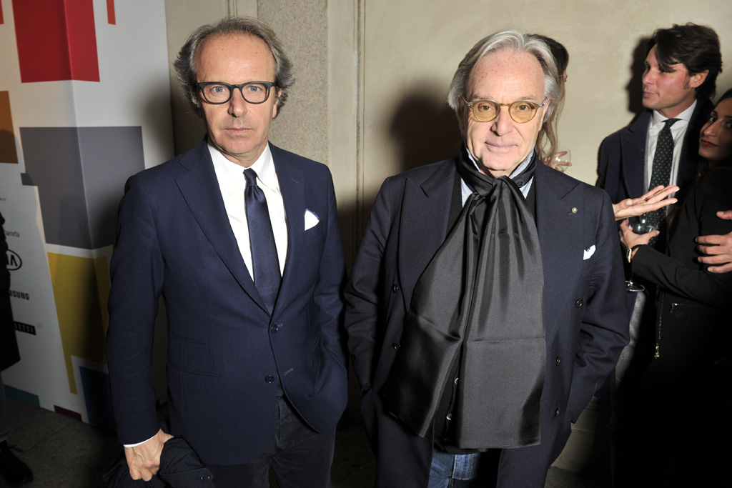 Andrea and Diego Della Valle The Next Talents MFW AW 16