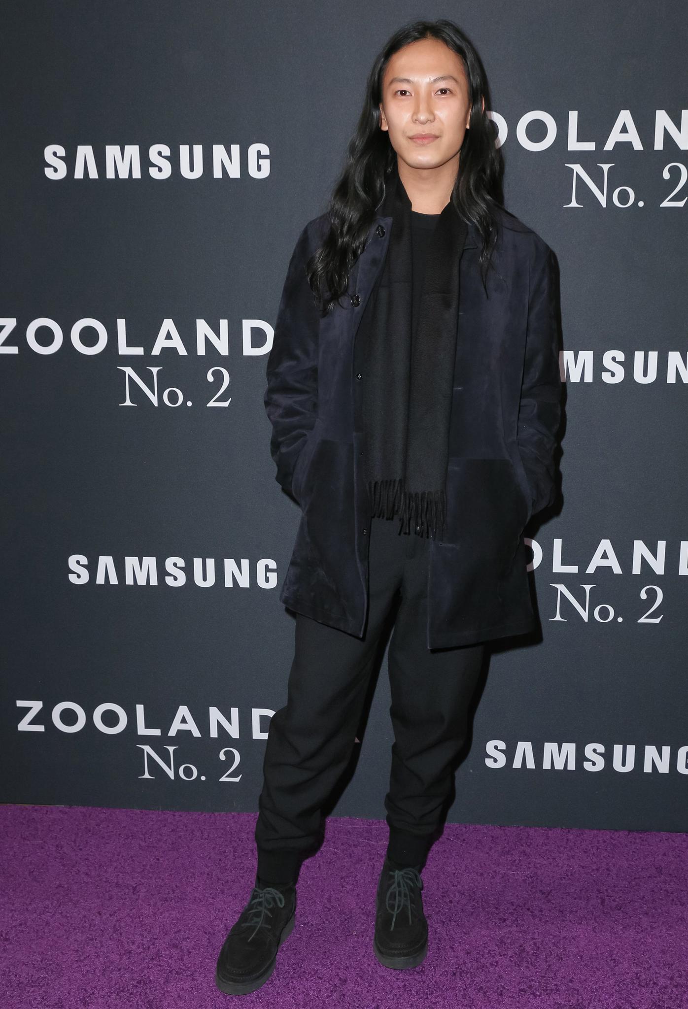 Alexander Wang at 'Zoolander No.2' film premiere, New York, America - 09 Feb 2016