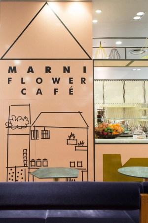 Marni Flower Café in Osaka