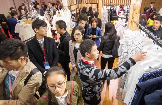 The Chic fair in Shanghai